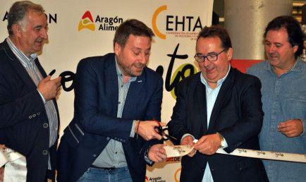 Inauguración del Festival gastronómico Aragón con gusto