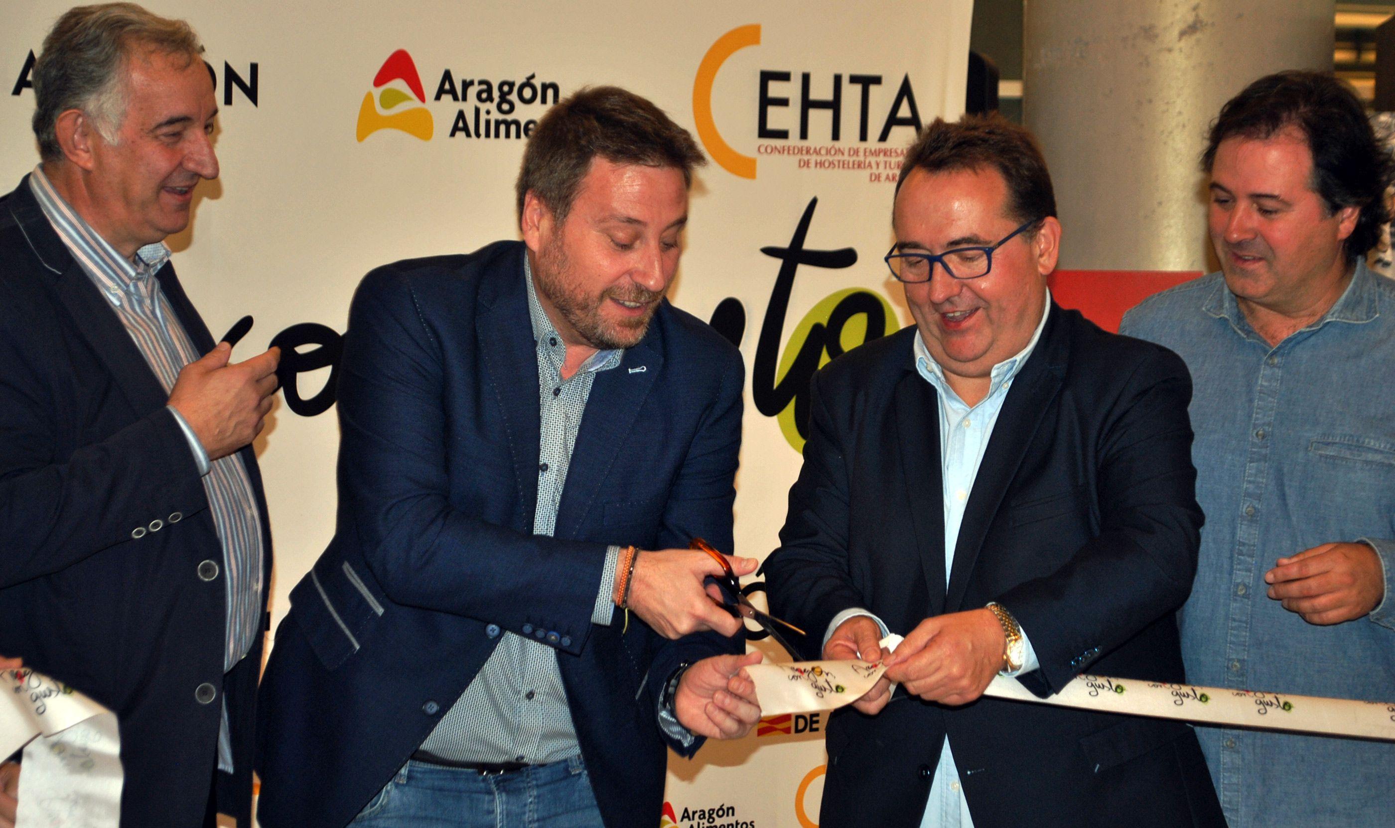 """""""Aragón con gusto"""", un gran escaparate gastronómico para los productos de aragoneses"""