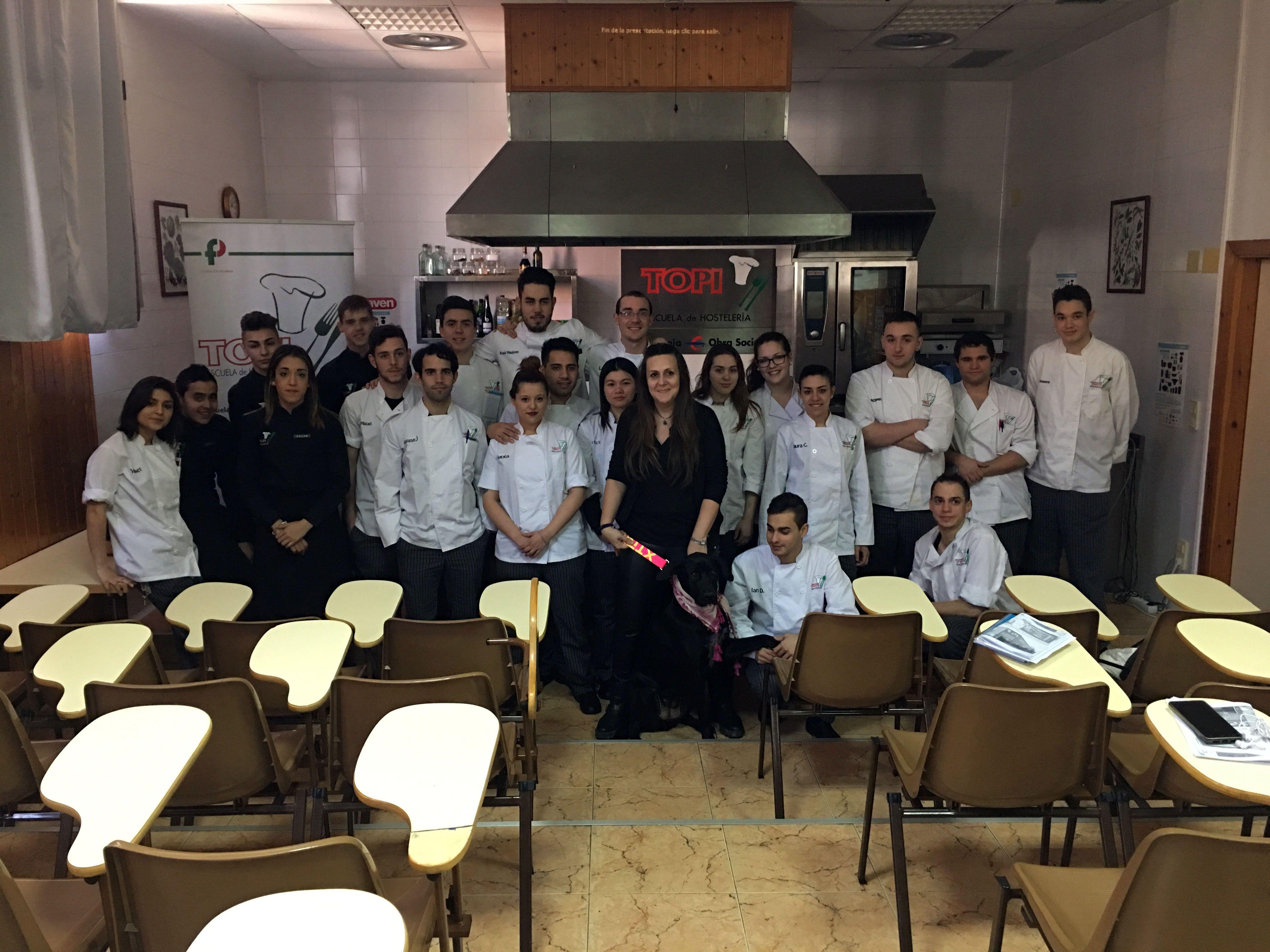 """Las principales escuelas de hostelería de Zaragoza aseguran que es """"imprescindible"""" impulsar el conocimiento de la tuber melanosporum desde los primeros años de formación"""