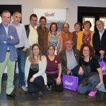 Los periodistas aragoneses visitan la cocina de la garnacha en el restaurante Rodi de Fuendejalón