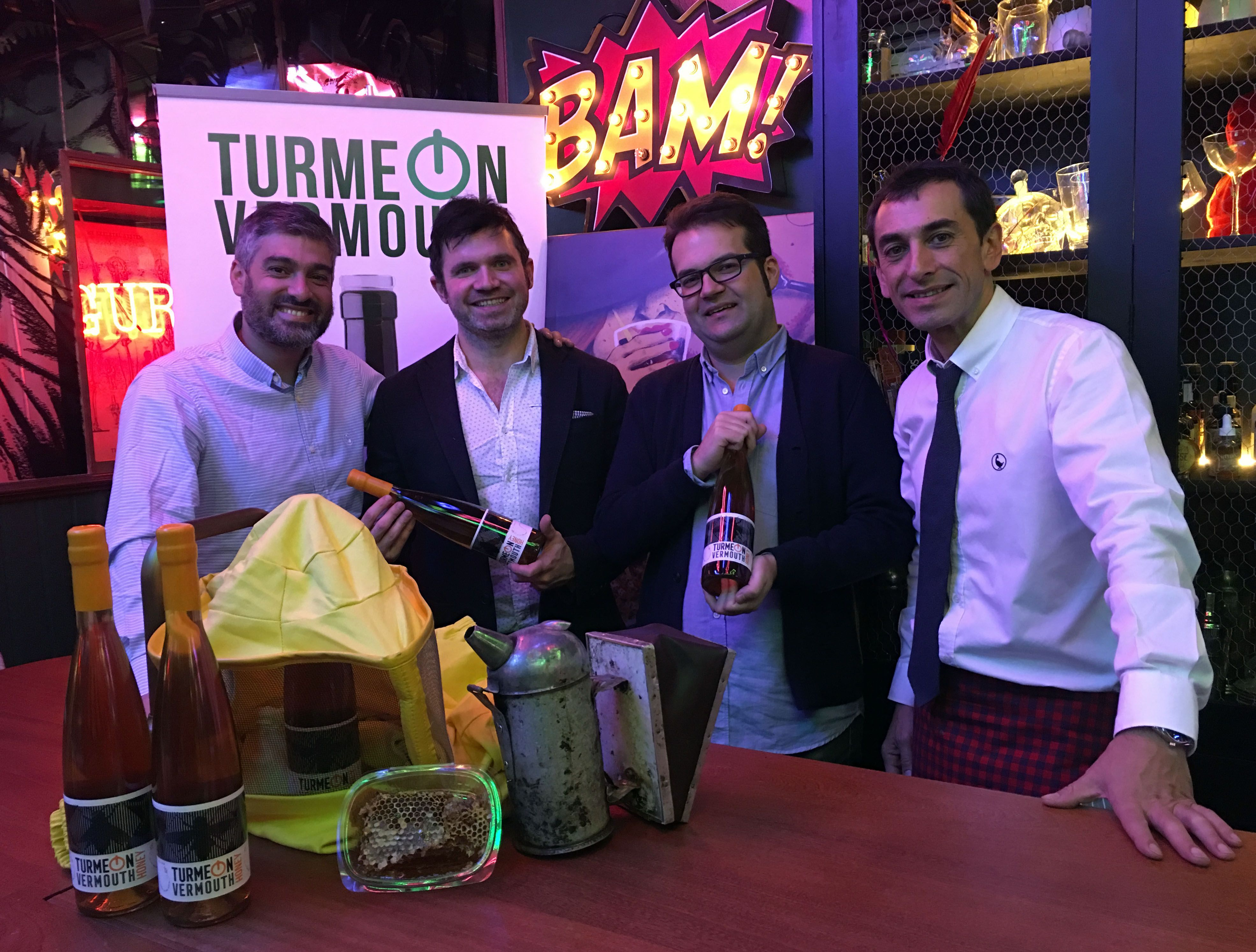 TURMEON conquista la coctelería con el primer vermut dulce de miel del mundo