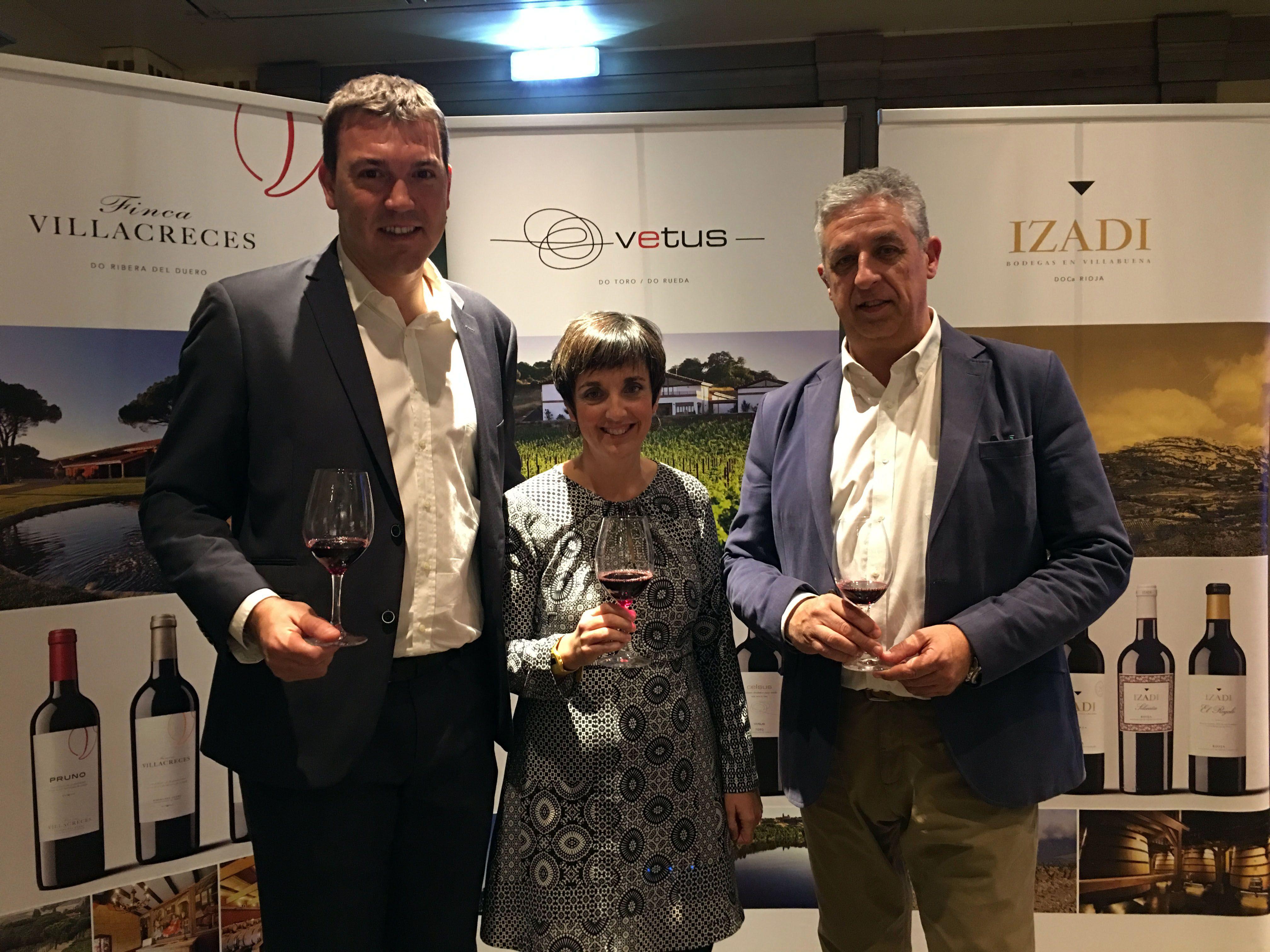 Los vinos más reconocidos del Grupo Artevino conquistan a los sumilleres zaragozanos