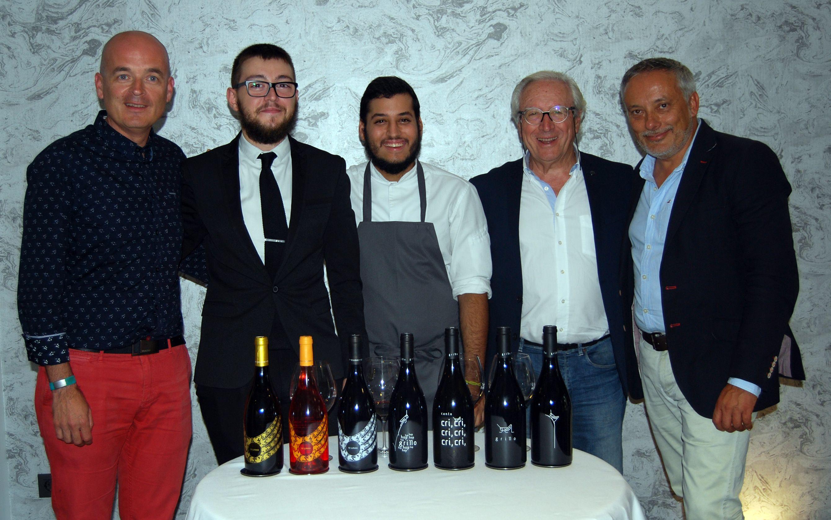 Gabinete de prensa y comunicación de la comida presentación de la Bodega El Grillo y la Luna