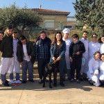 Descubre la trufa da charlas sobre tuber melanosporum a los alumnos de Miralbueno