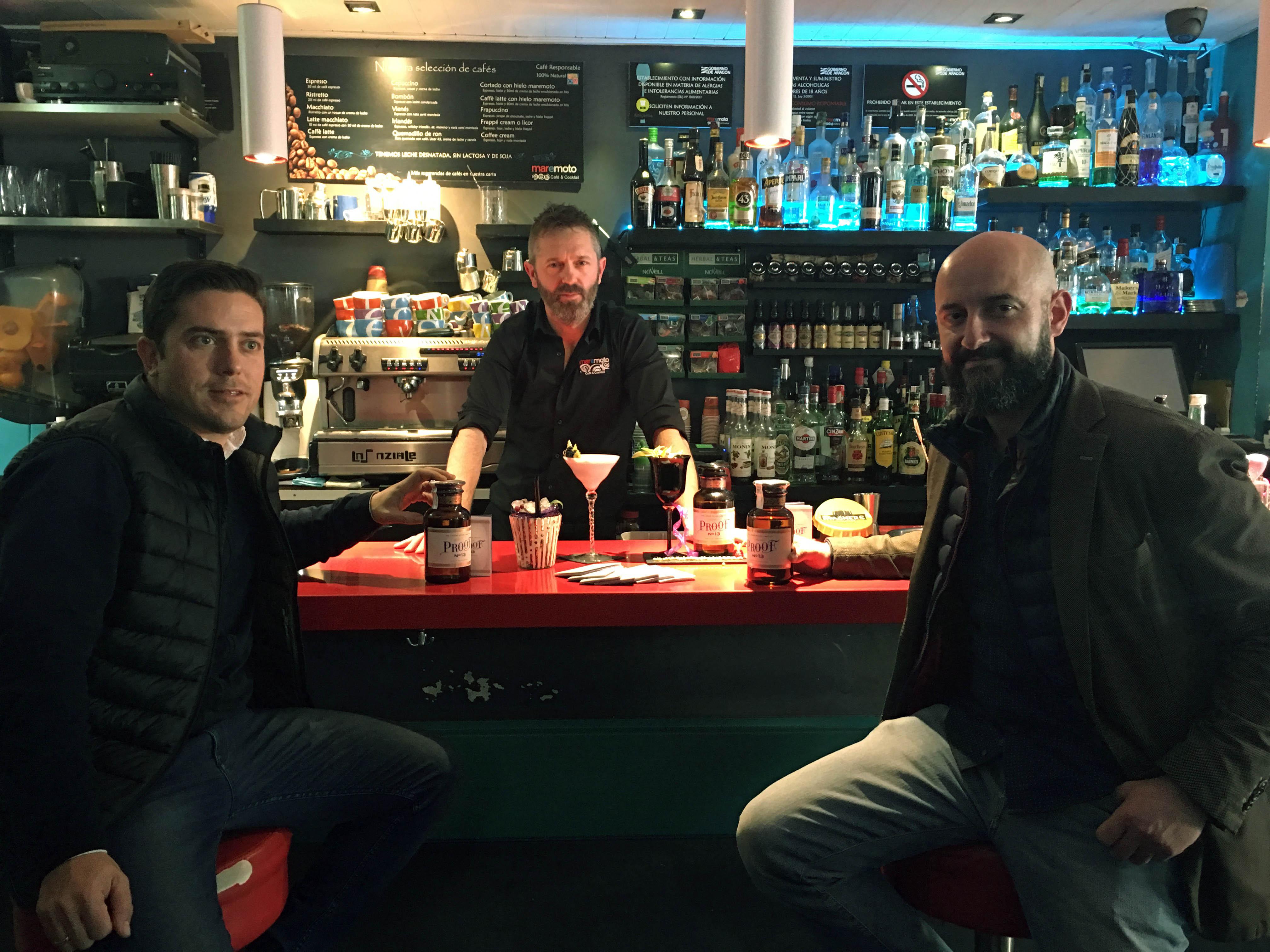 Gabinete de prensa y comunicación Nuevo Gin Liquor Proof 13 – The Poshmakers