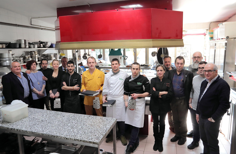 El cremoso de bacalao con trufa, del Restaurante Palomeque, es la mejor propuesta con tuber melanosporum de Zaragoza y provincia