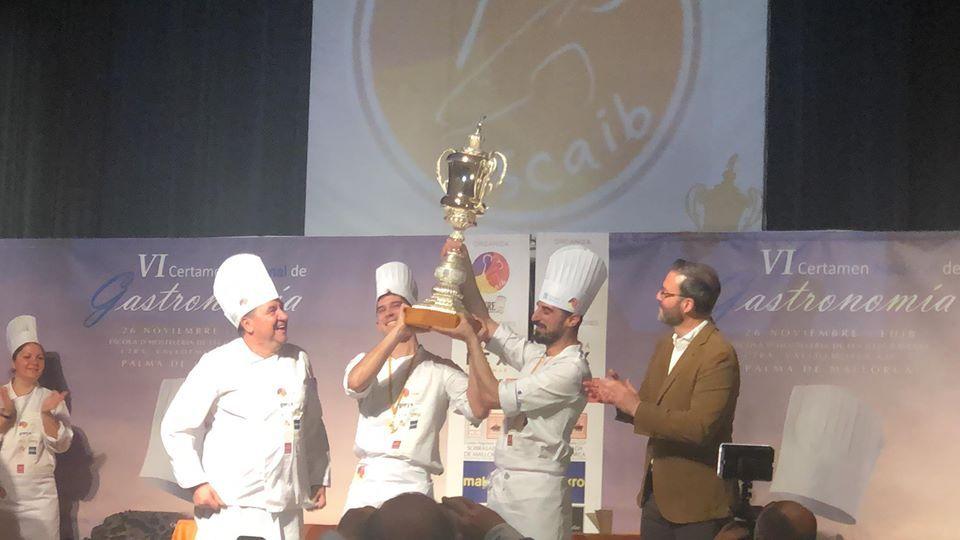 Los hermanos Carcas ganan el VI Certamen Nacional de Gastronomía