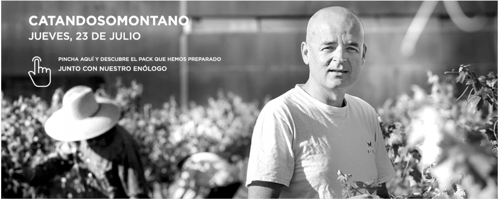 CatanDO Somontano: Cata virtual de El Grillo y la Luna