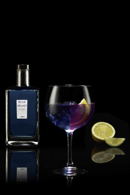 Nueva ginebra Blue Velvet de Turmeon