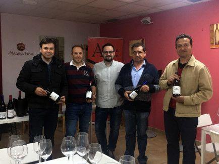 Presentación del proyecto Alacena Vinos en la Alacena de Aragón