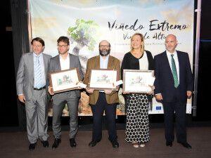 Premiados II edición premios Viñedo Extremo