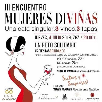 Cartel III edición Mujeres Diviñas