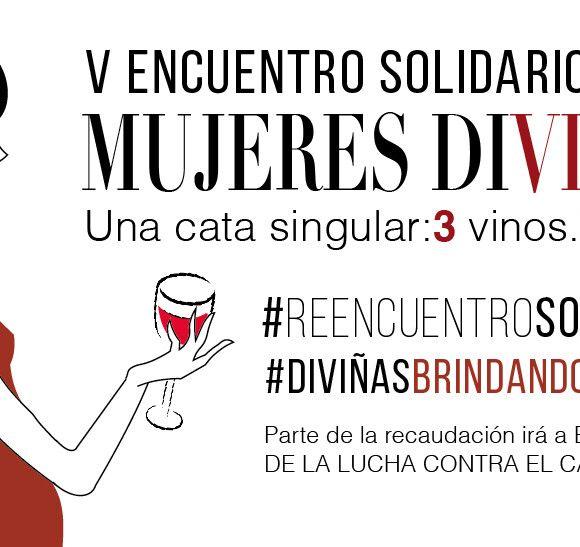 Cartel V edición Mujeres Diviñas