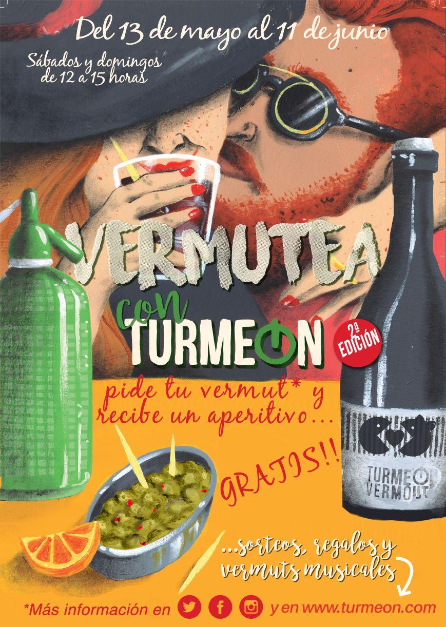 Gabinete de prensa y comunicación vermut Turmeon – Iniciativa: II edición Vermutea con Turmeon