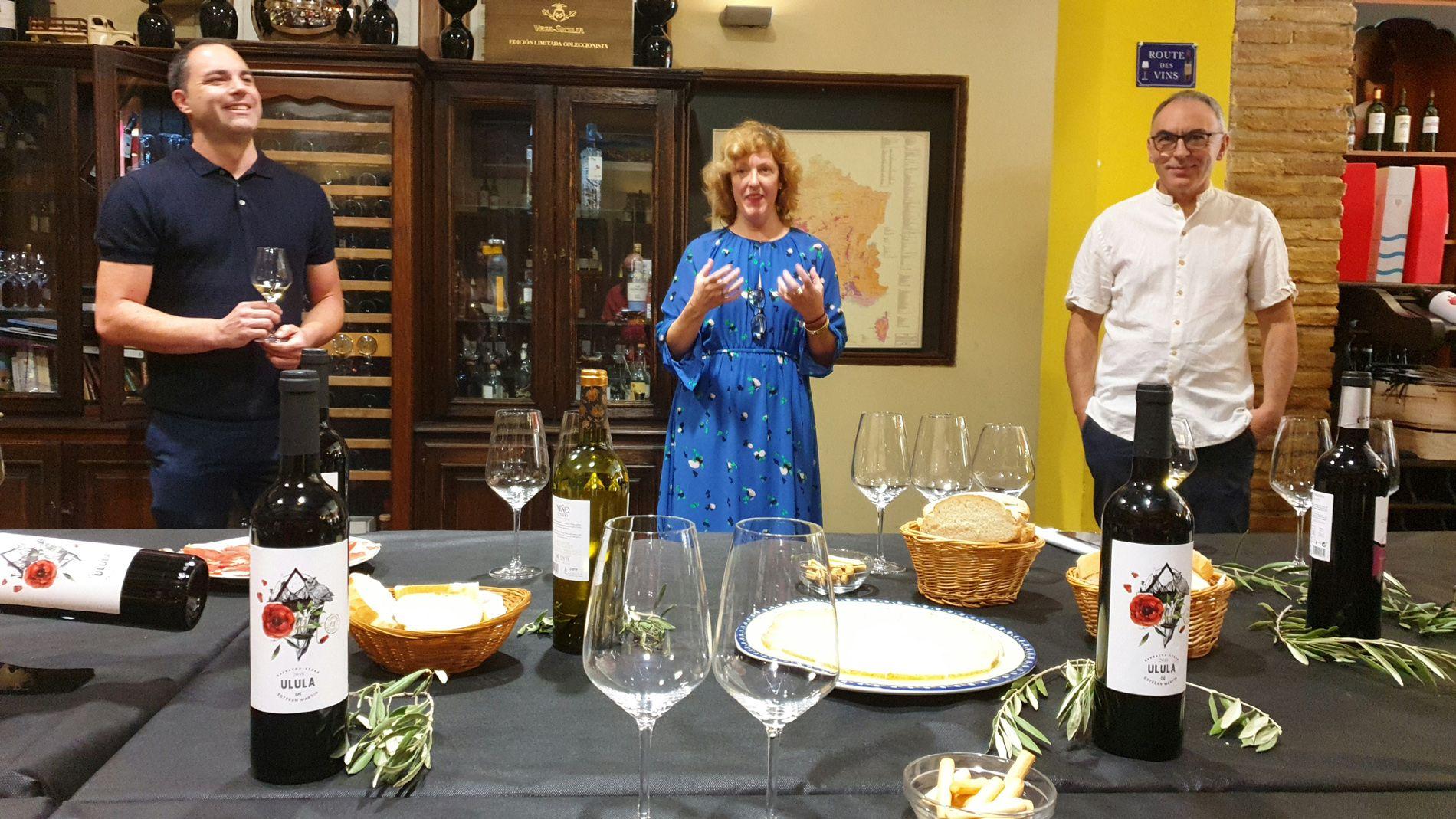 La bodega de la DOP Cariñena Esteban Martín presenta su nuevo vino ULULA