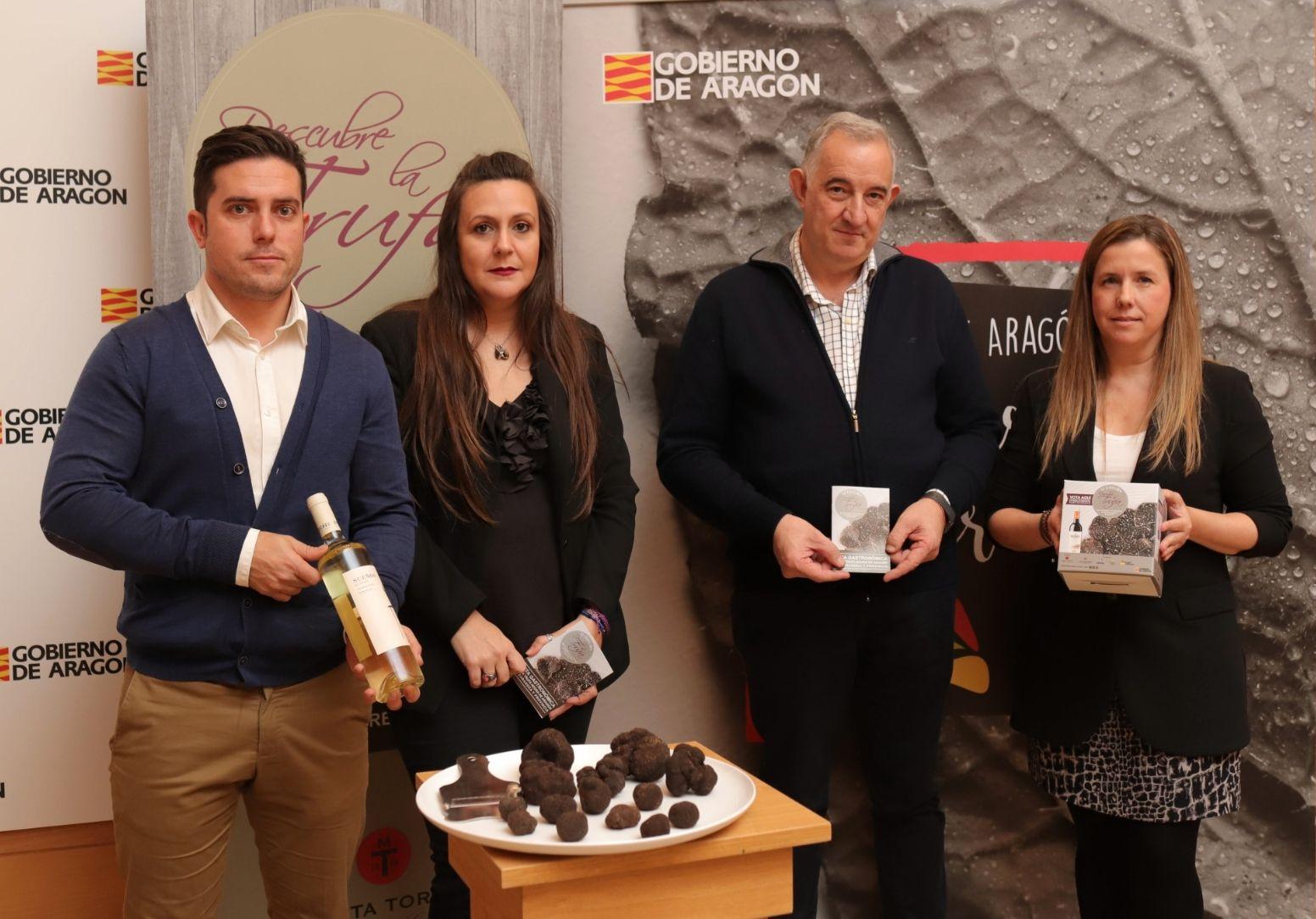 """Arranca la edición más innovadora de """"Descubre la trufa"""" en 37 establecimientos de Zaragoza y provincia"""