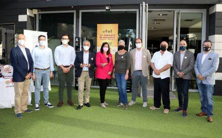 Foto de familia presentación concurso croquetas