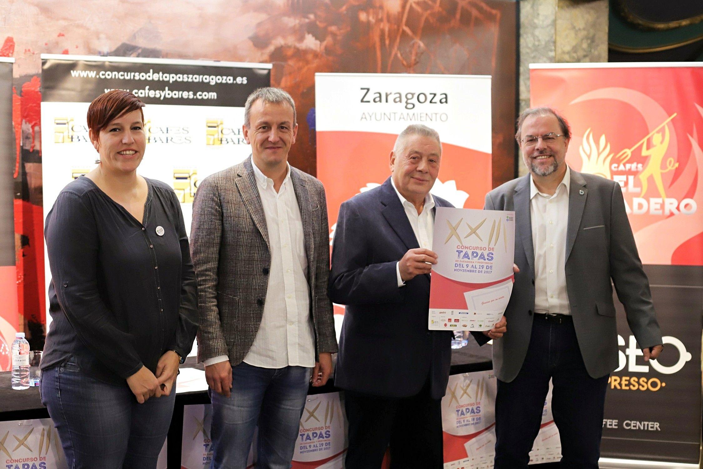 Arranca la XXIII edición del Concurso de Tapas de Zaragoza y Provincia