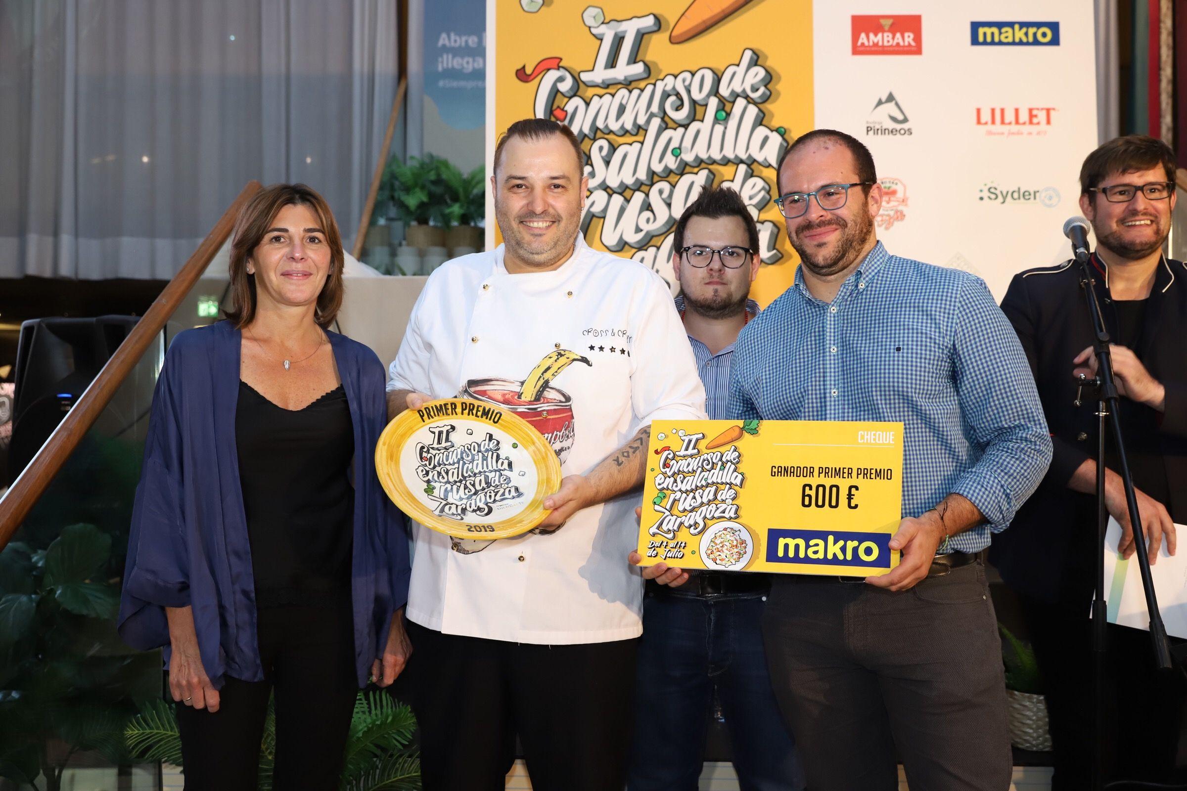 El restaurante La Torre Plaza tiene la Mejor Ensaladilla Rusa de Zaragoza