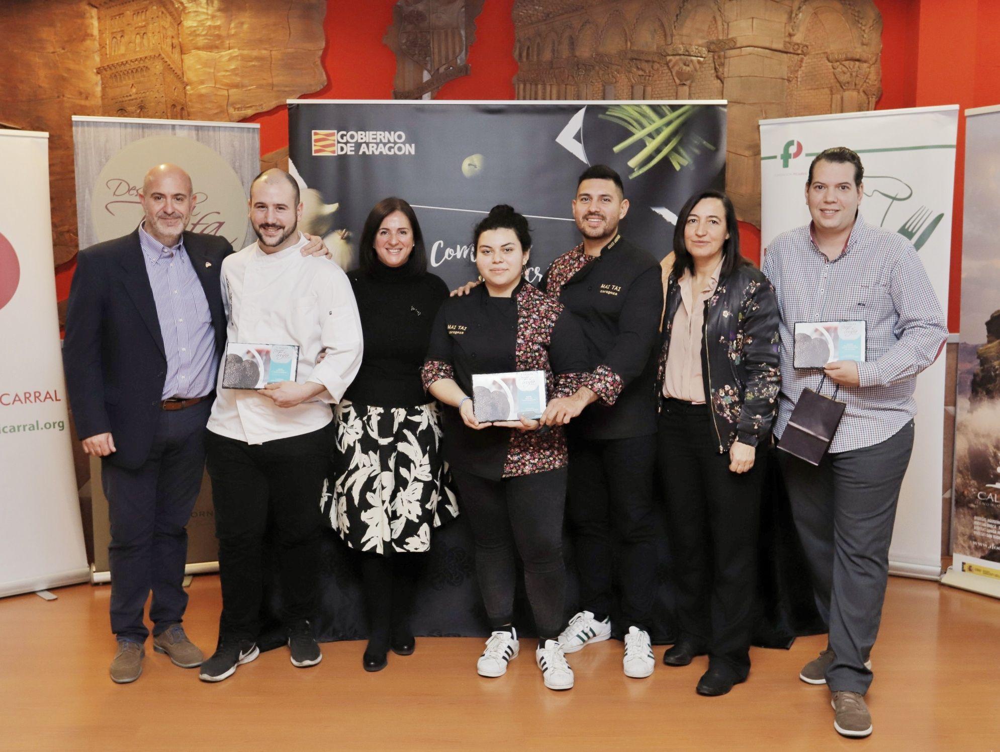 Mai Tai y Casa Escartín ganan la quinta edición de «Descubre la trufa»
