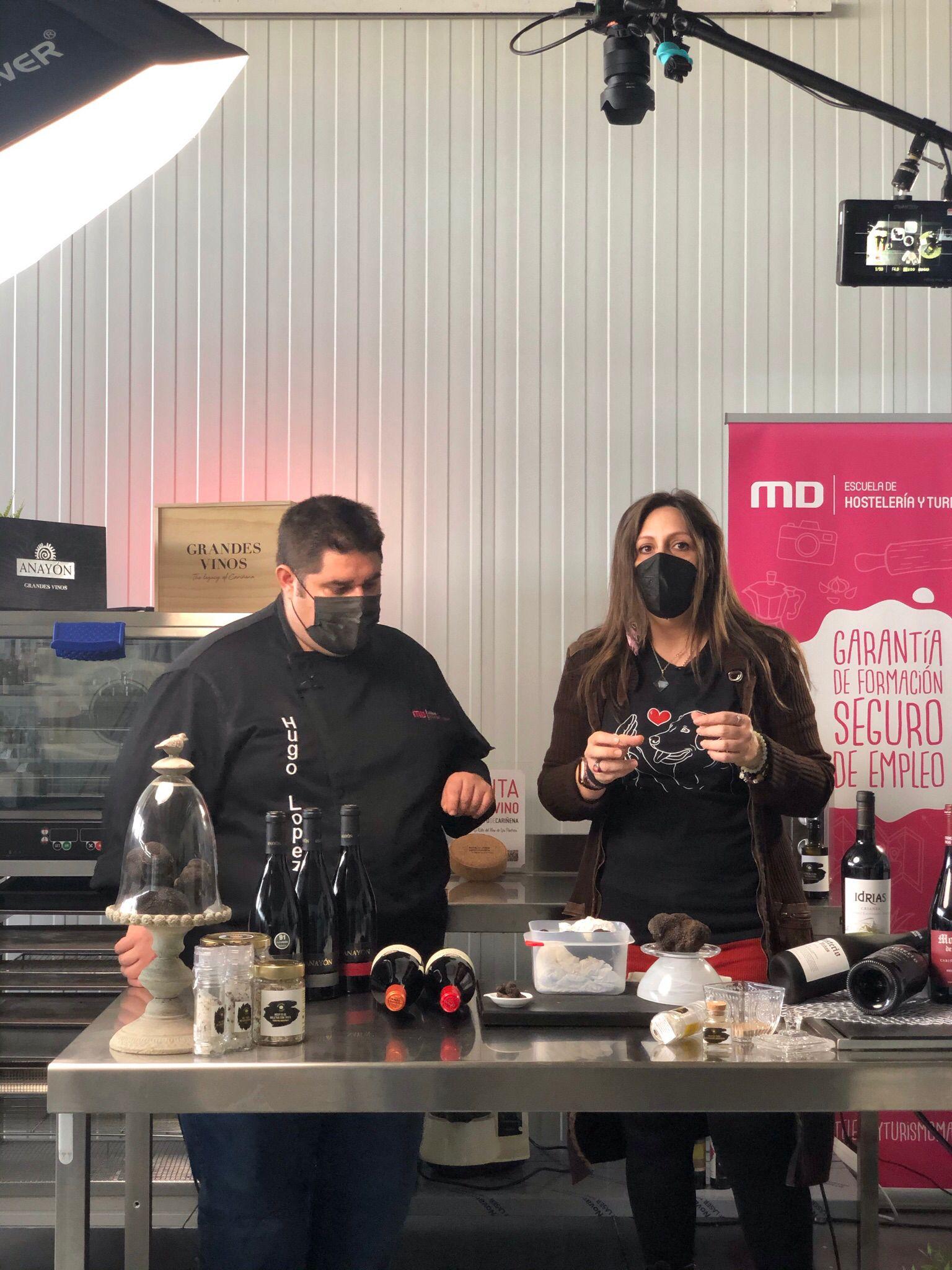 """El proyecto """"Cocinando con trufa en Aragón"""" busca fomentar y popularizar el uso de la tuber melanosporum entre los aragoneses"""