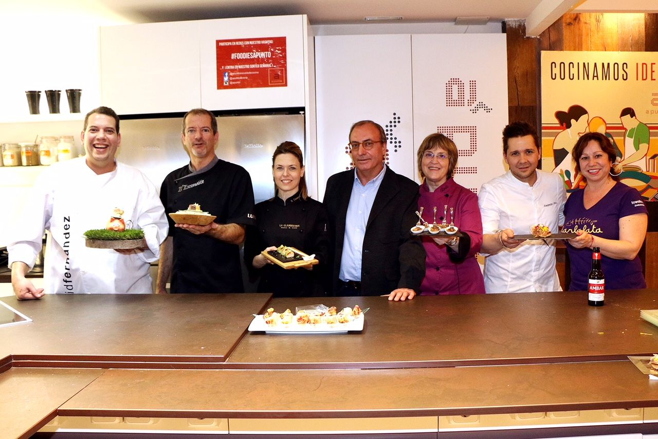 La gastronomía de Zaragoza triunfa en Madrid con la presentación de la XXIV edición del concurso de tapas