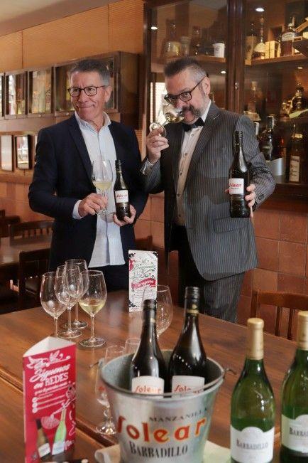 Manuel Zorita y Jesús Solanas. Gabi Orte