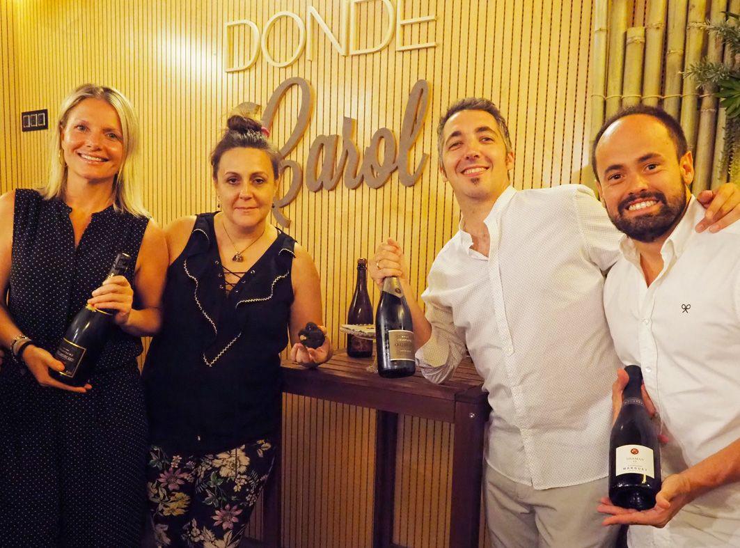 Gabinete de prensa y comunicación Jornadas de trufa de verano y champán en Donde Carol