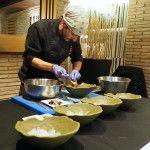 FOTO: Eduardo Bueso lugaresconestrella.com. El jefe de cocina de Donde Carol, Jesús Rubio