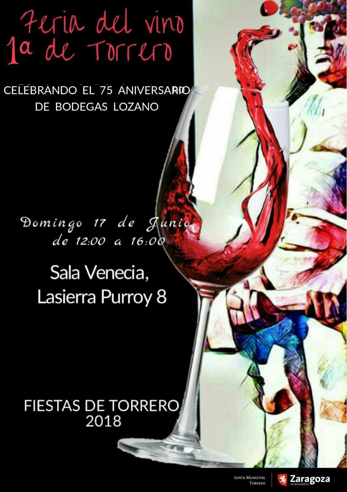 El barrio de Torrero celebra su I Feria del Vino coincidiendo con el 75 aniversario de las históricas Bodegas Lozano