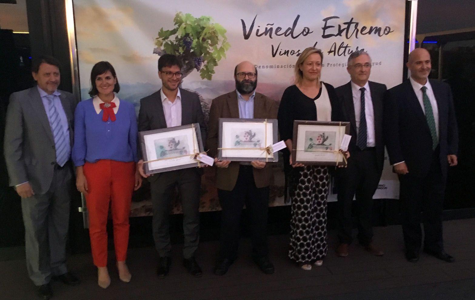 La DOP Calatayud entrega sus premios Viñedo Extremo