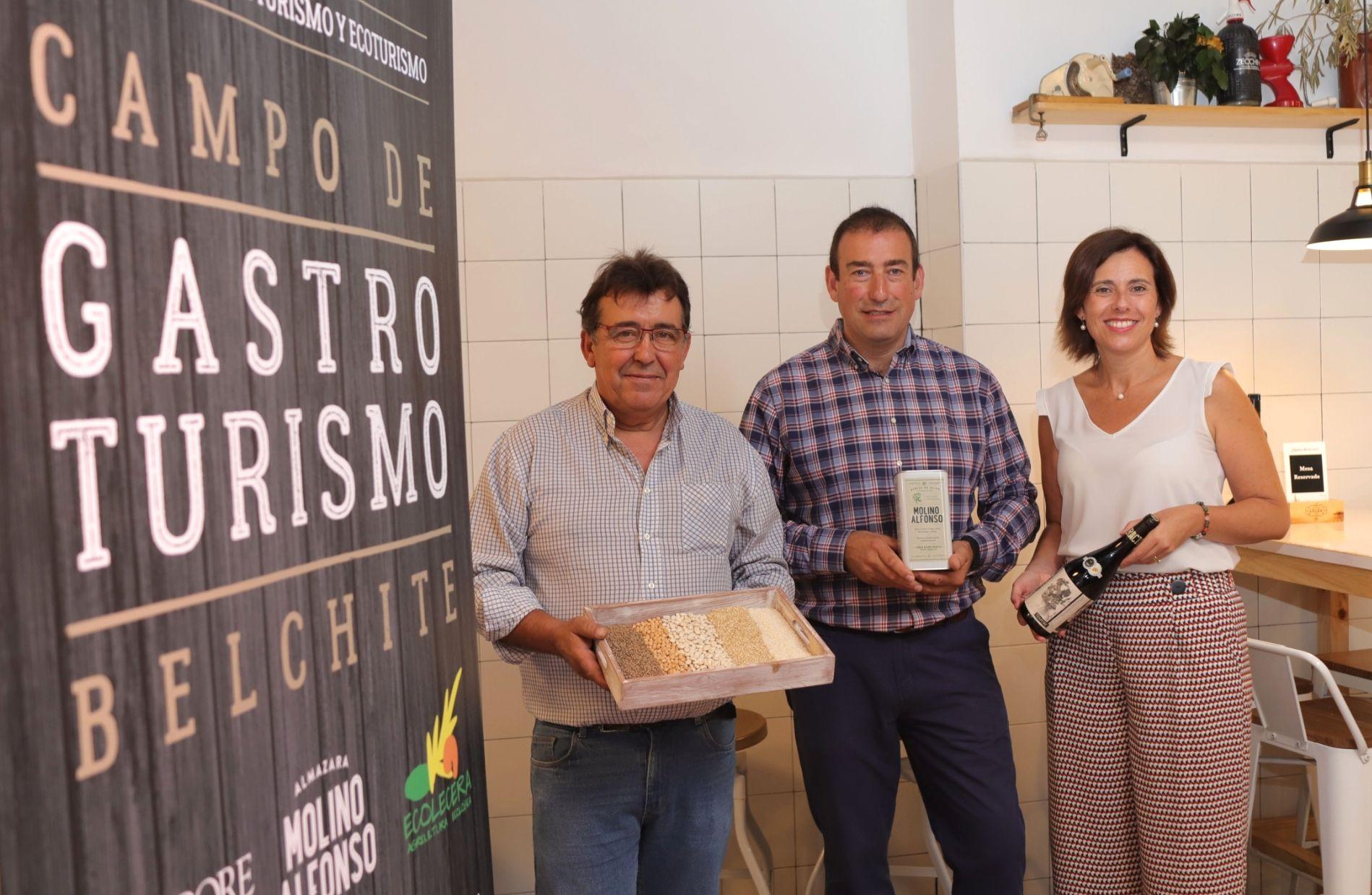 Gabinete de marketing estratégico, prensa y comunicación del proyecto Gastroturismo Campo de Belchite. Presentación a prensa del proyecto