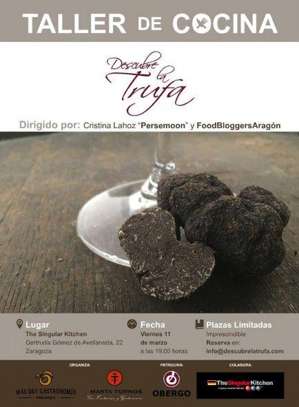 Las foodbloggers aragonesas cocinan para la ruta Descubre la trufa