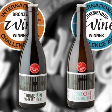 Vermut Turmeon premiado en los International Wine Challenge