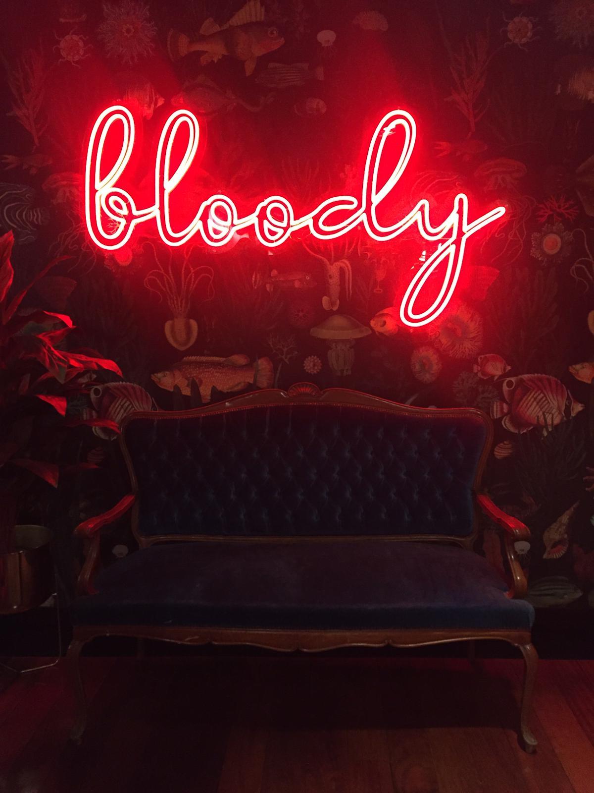 Bloody: siete cóctelesadictivosen tres minutos