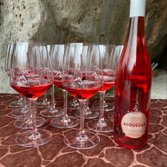 Botella Alquézar Bodega Pirineos