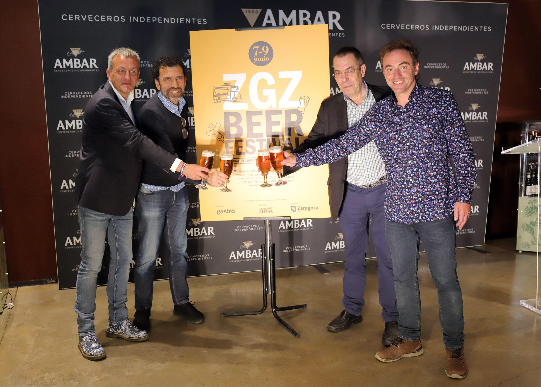 Un total de 36 cerveceros independientes participan en el Zaragoza Beer Festival