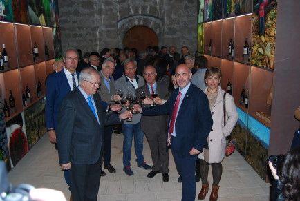 Brindis inauguración del Museo de la DO Calatayud