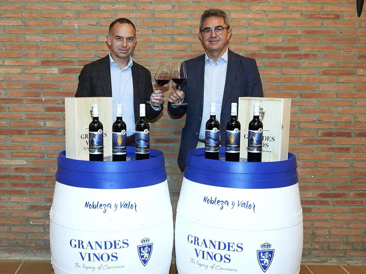 Grandes Vinos lanza una edición especial de Monasterio de las Viñas gran reserva 2013, el vino oficial del Real Zaragoza