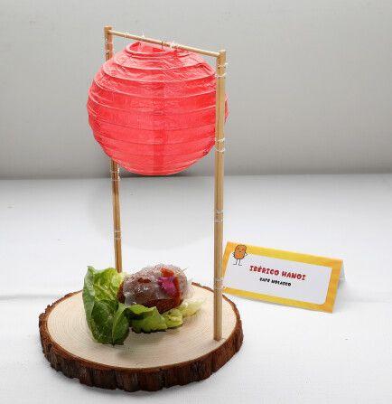 Croqueta ganadora, Ibérico Hanoi, de Café Nolasco.