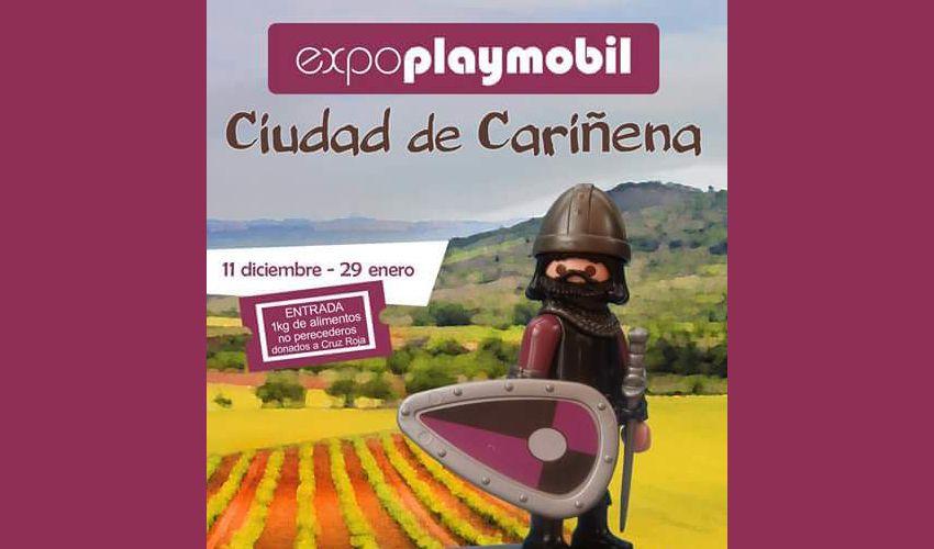 Playmobil desembarca en Cariñena por una buena causa