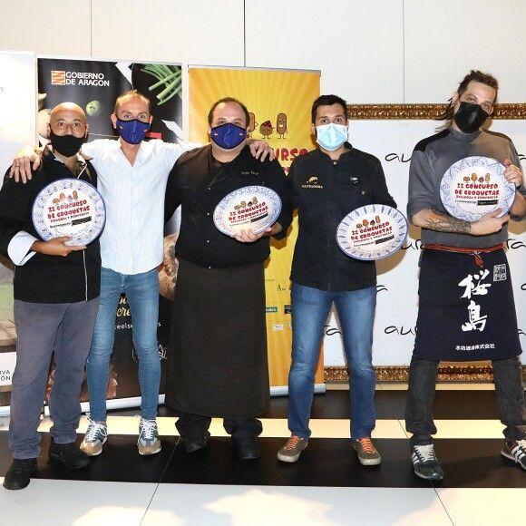 Ganadores del II Concurso de Croquetas de Zaragoza y provincia