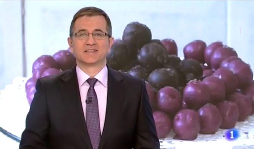 Los Garnachicos de Fuendejalón en los informativos de TVE