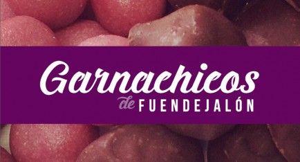 Garnachicos de Fuendejalón, el primer mazapán de vino del mundo. Garnacha