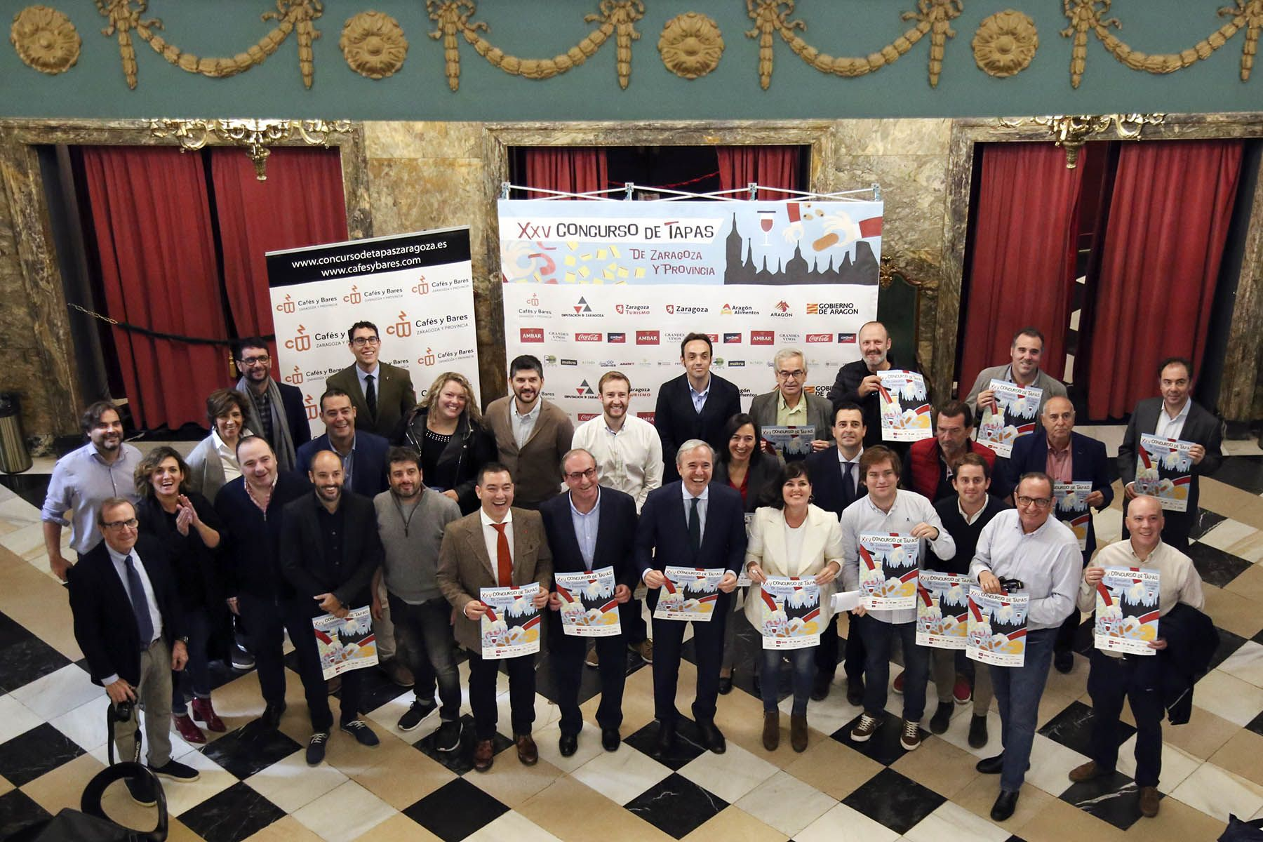 El Concurso de Tapas de Zaragoza y provincia celebra sus bodas de plata con récord histórico de participación