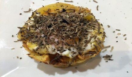 huevos poche trufados Al Alba