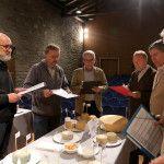 Jurado del V Concurso de Quesos de Aragón celebrado en Huesca