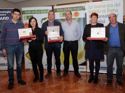 Premiados mejor aceite Bajo Aragón