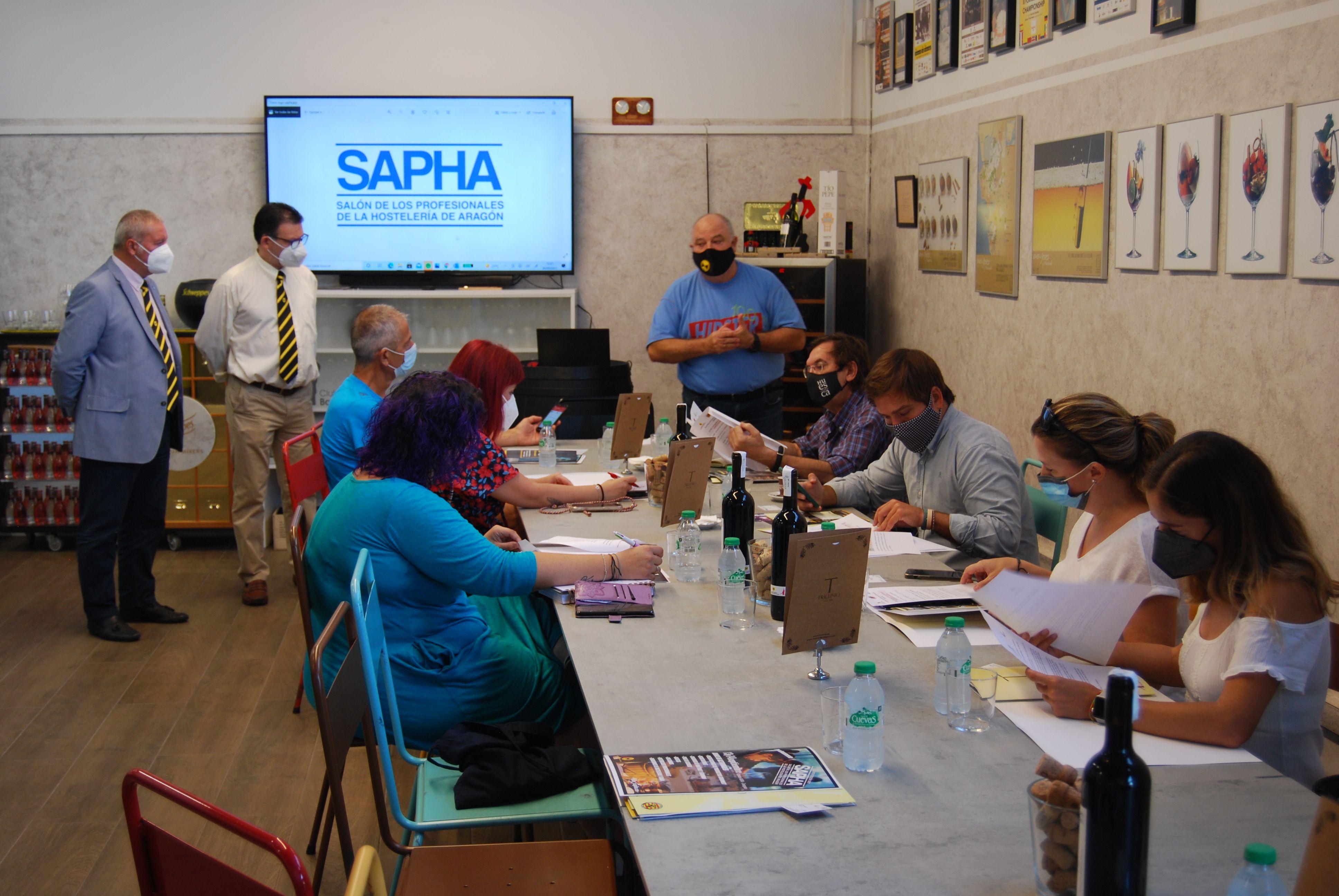 Las asociaciones de Maîtres y Barman de Aragón celebran la V edición del  SAPHA los días 13 y 14 de septiembre