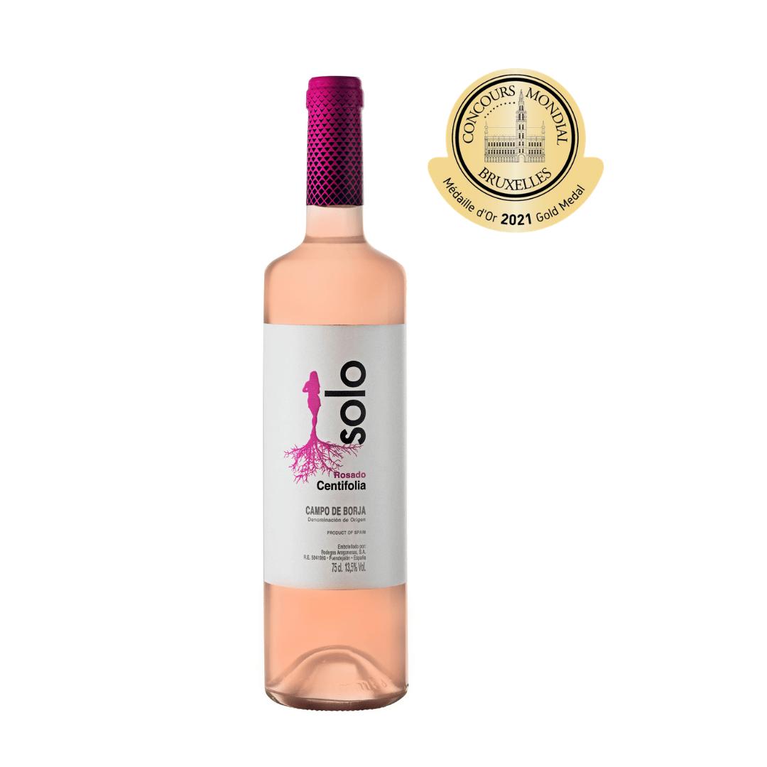 Solo Centifolia 2020, mejor rosado de Aragón en la primera edición del Concurso Mundial de Bruselas – Rosé Selection